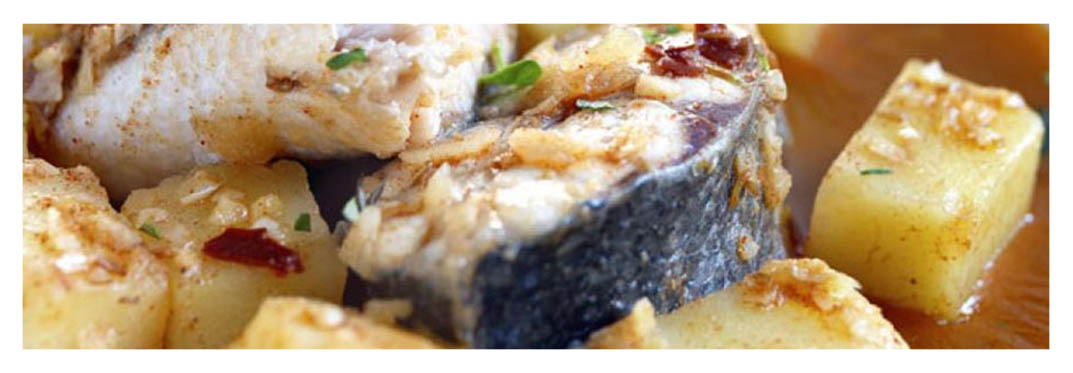 a tasty meal with sanchoco a special canarian fish