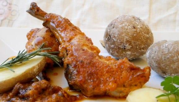 receta-conejo-en-salmorejo