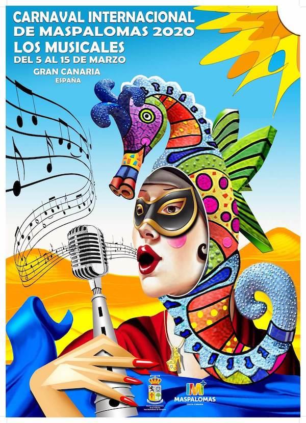 cartel carnaval maspalomas 2020