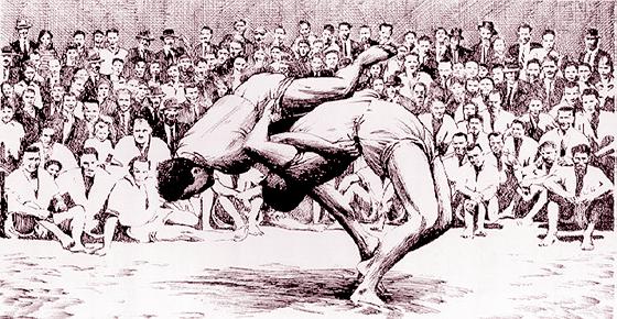historia lucha canaria