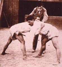 luchadores canarios