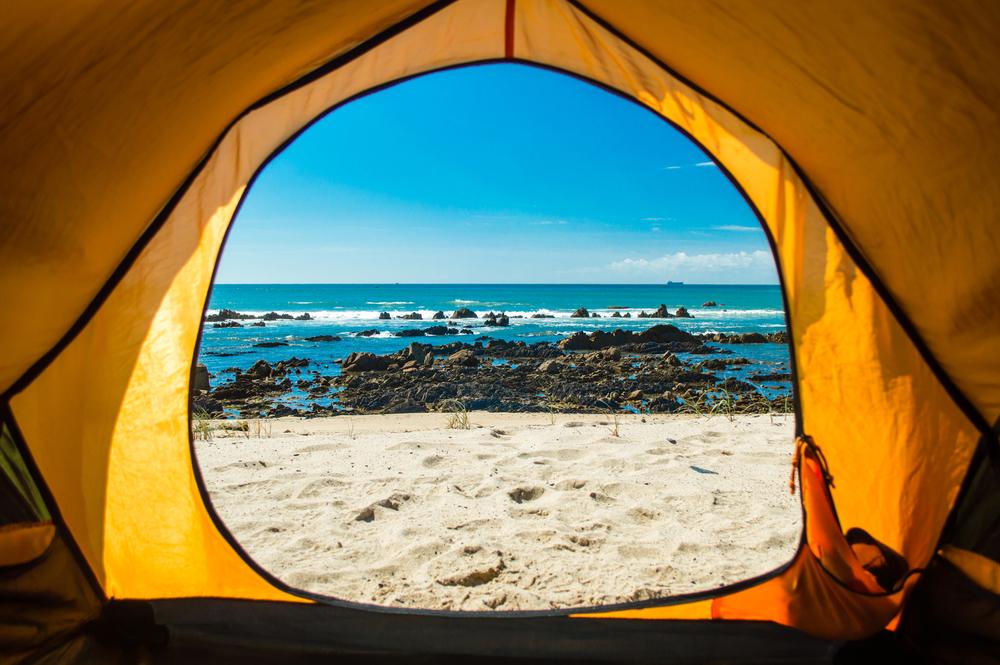 sitios para acampar en la playa en gran canaria